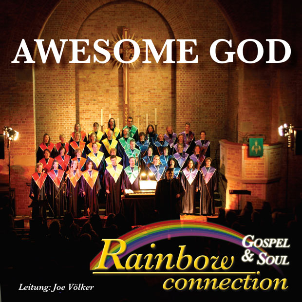 CD-Cover »Awesome God«, Vorschau